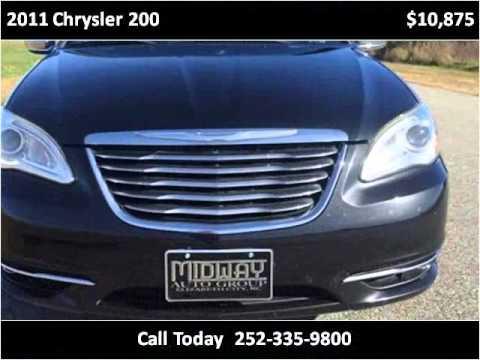 2011 chrysler 200 used cars elizabeth city nc youtube. Black Bedroom Furniture Sets. Home Design Ideas
