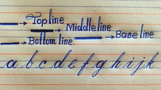 handwriting basic strokes ll cursive writing basic strokes ll hand writing ll english handwriting ll