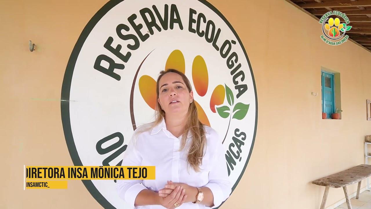Mônica Tejo, Diretora do INSA, visita Reserva Olho D'água das Onças