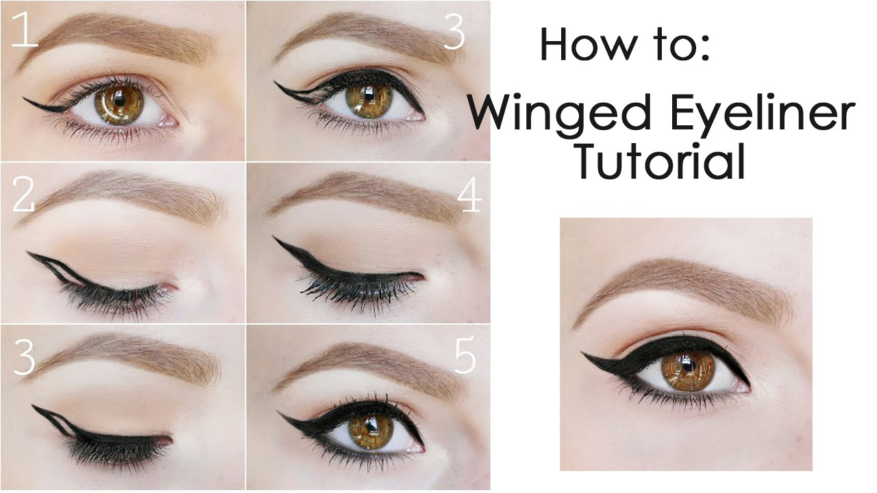 tutorial eyeliner routine der perfekte lidstrich youtube. Black Bedroom Furniture Sets. Home Design Ideas