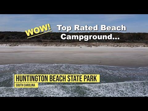 Huntington Beach State Park Campground, SC Beach Camping