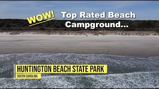 Huntington Beach State Pąrk Campground, SC Beach Camping