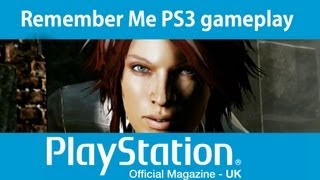 Remember Me PS3 gameplay video - Uncharted goes sci-fi
