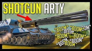 ► Shotgun Arty = Fun Arty? - World of Tanks SPG Gameplay