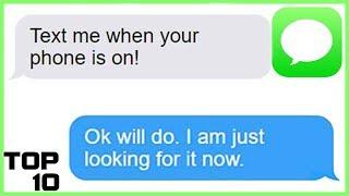 Top 10 Dumbest Text Messages Part 16