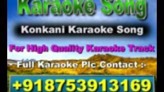 Mog Tuzo Kithlo Ashelom Karaoke Konkani Song