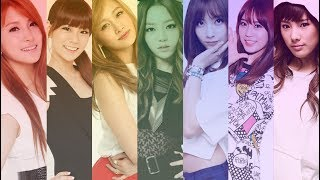 KARA (카라) - Singing parts comparisons