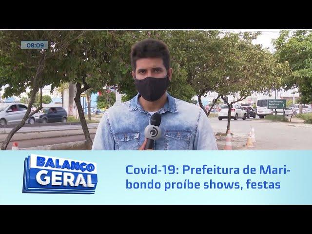 Covid-19: Prefeitura de Maribondo proíbe shows, festas e eventos por próximos 60 dias