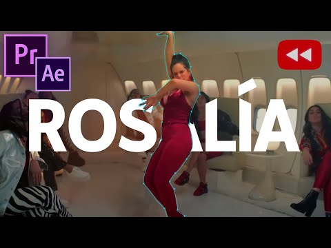 Youtube Rewind 2019: Text Behind Person Tutorial (Premiere Pro / After Effects) (Rosalía) thumbnail