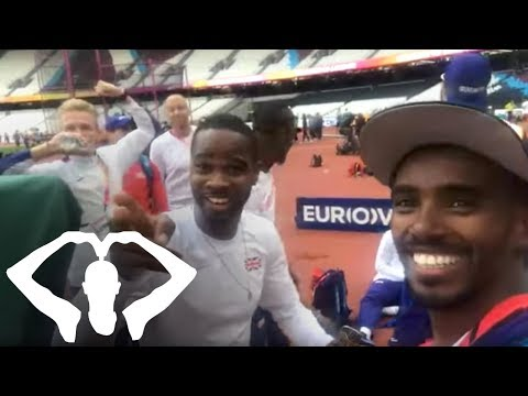 Inside the Olympic Stadium for the World Championships 2017! | Mo Farah LIVESTREAM