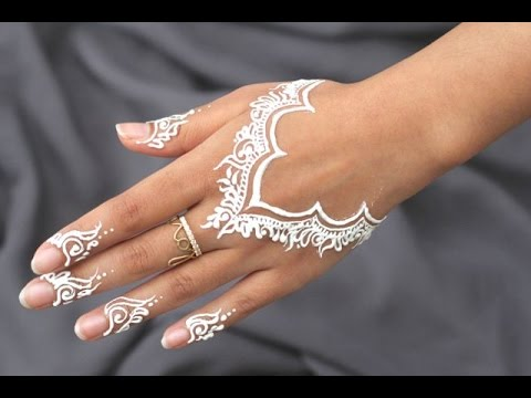 Best diy how to apply white henna body paint temporary for Henna body tattoo