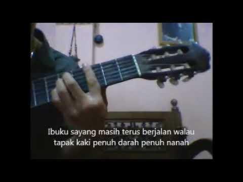 Tutorial Gitar lagu 'Ibu'
