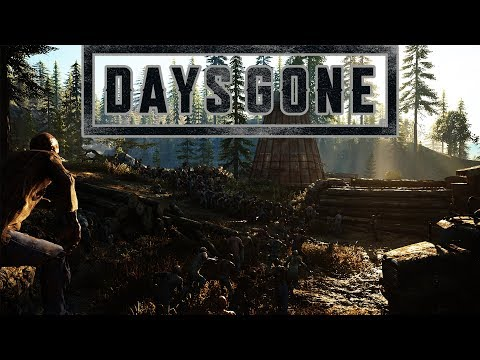 DAYS GONE - 30 MINUTES INSANE GRAPHICS GAMEPLAY  PS4 (NEW)