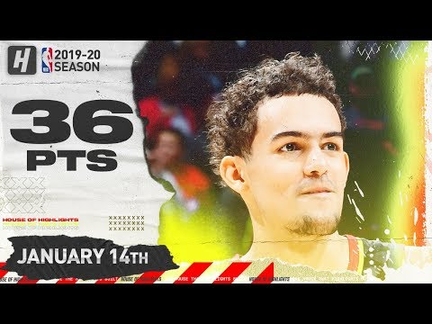 Trae Young 36 points 10 assists Full Highlights   Hawks vs Suns