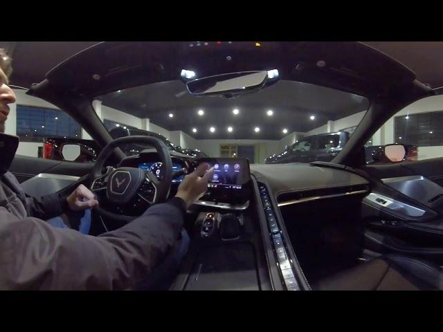 Chevrolet Corvette Stingray C8: la spiegazione a 360°