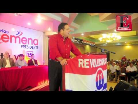 Juan Carlos Arosemena Afina Su Candidatura