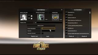 Syncing world of trucks to ETS2 - Screenshots and Numberplates
