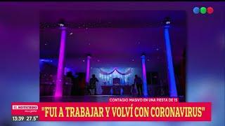 Gambar cover CONTAGIO MASIVO de CORONAVIRUS en una FIESTA de 15 - El Noti de la Gente
