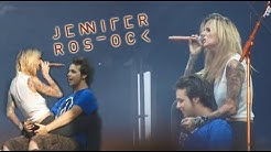 Sex Sells - Jennifer Rostock auf dem Open Flair 2012