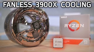Can You PASSIVELY COOL a 12-Core Ryzen 9 3900X?