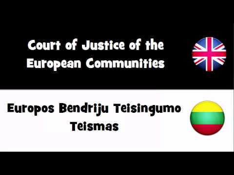 TRANSLATE IN 20 LANGUAGES = Court of Justice of the European Communities