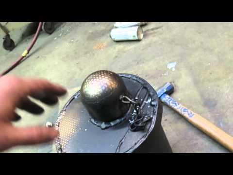 Spray paint can piercer