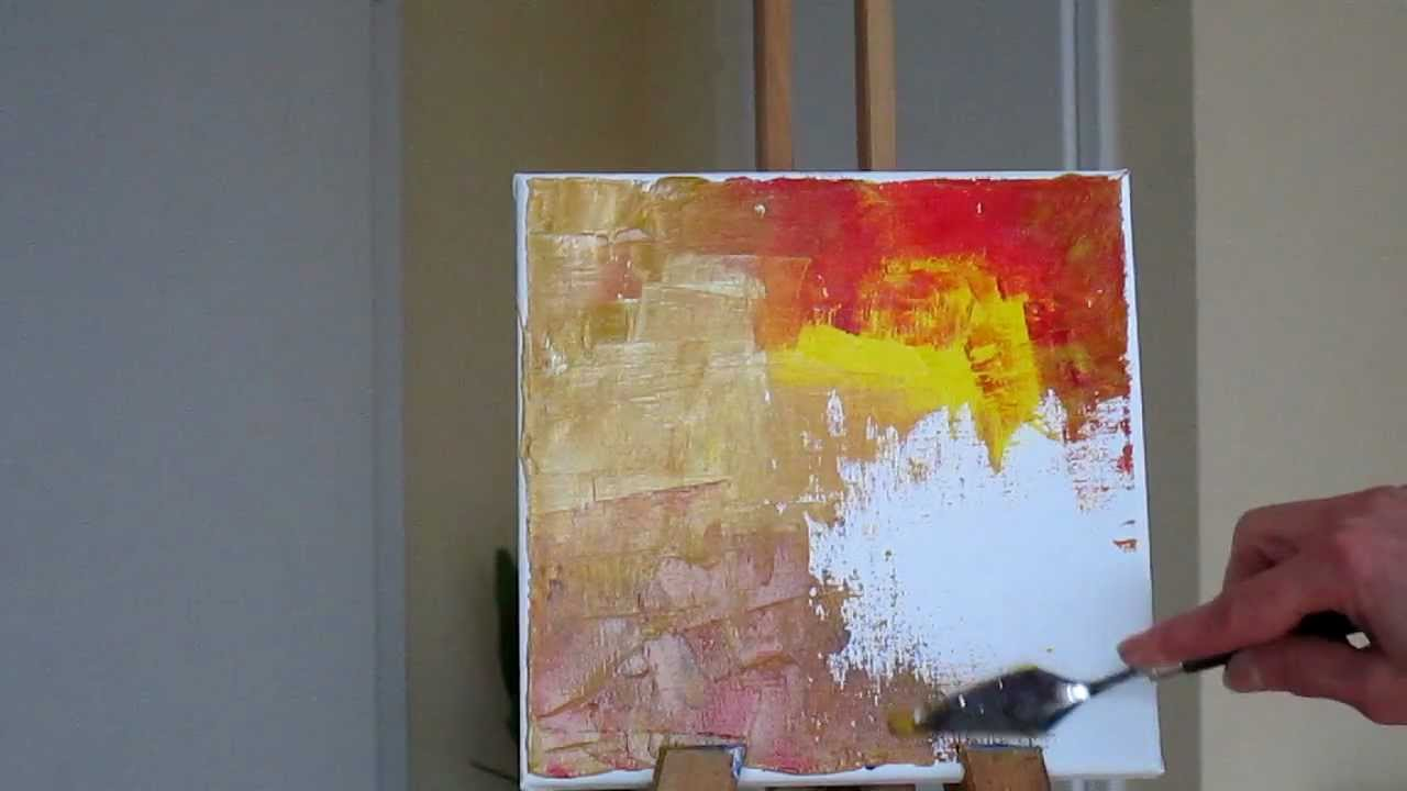 tanja bell abstract painting trees part 1 tutorial palette