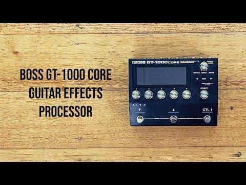 Boss: GT-1000 CORE Guitar Effects Processor
