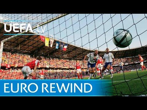 EURO 2004 highlights: France 3-1 Switzerland