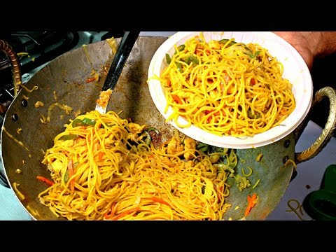 Chicken Chow mein Recipe Street Food Style By Our Chef Ryan – Chicken Noodles Recipe
