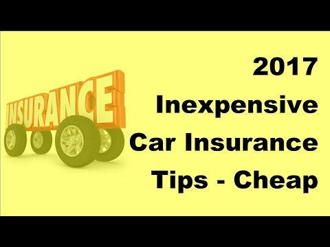 2017 Inexpensive Car Insurance Tips  Cheap Car Insurance in NY State