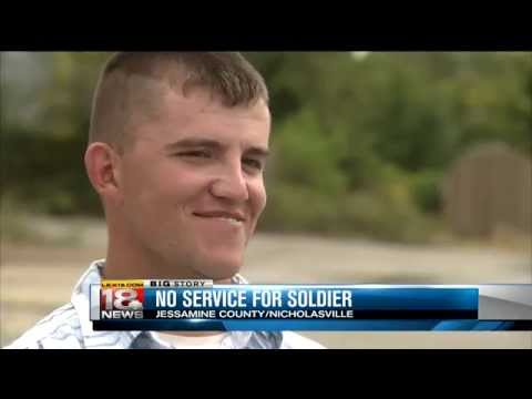No Service For Kentucky Soldier
