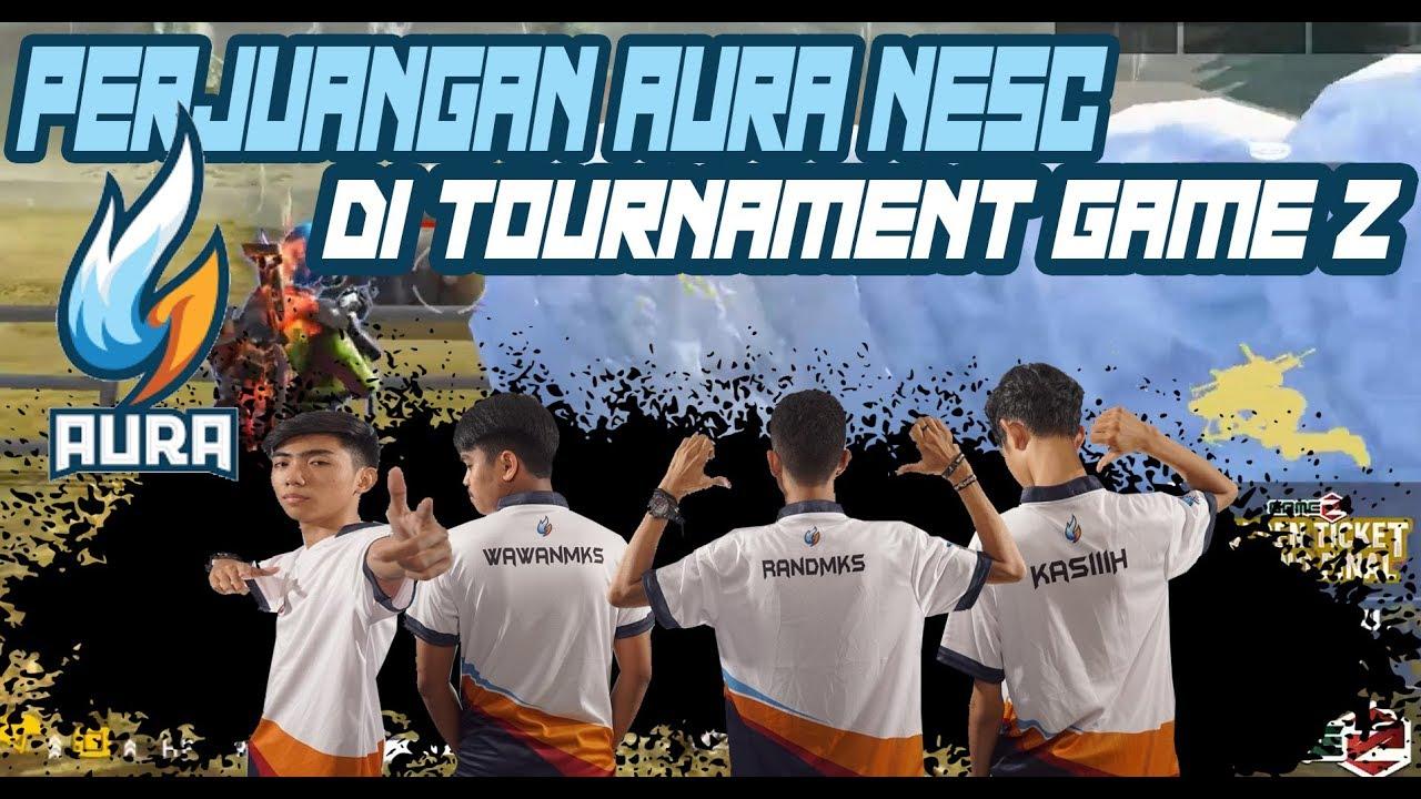 Detik Detik Perjuangan Aura Nesc Meraih Juara Di Turnamen Game Z Golden Ticket Garena Free Fire