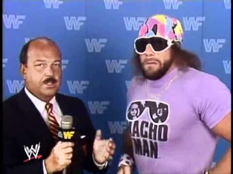 Macho Man Randy Savage interview nothing means nothing