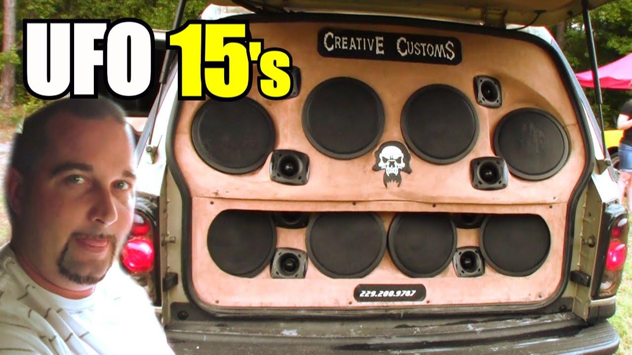 Mmats Audio Install Bass Demo W 24 10 Selenium Speakers Three Car 15 Fi Btl Ufo Subwoofers Youtube