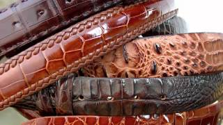 Alligator Belt -- Luxury and Durability in Your Waist