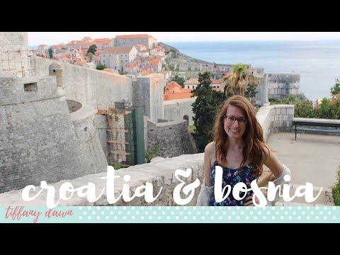 CROATIA + BOSNIA + PLITVICE LAKES VLOG | Europe Vlog 2017 (Part 4/6)