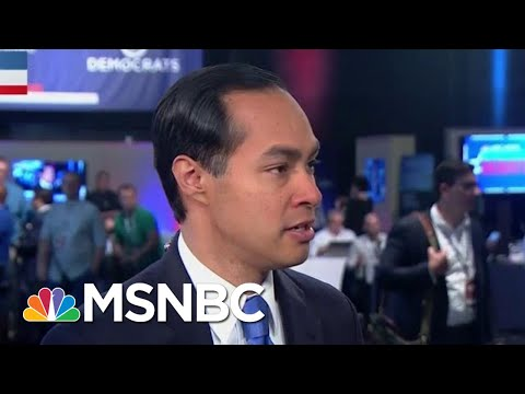 """Julián Castro Explains His Debate """"Beef"""" With Beto O'Rourke 