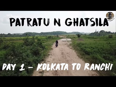 The Patratu Ride | Drone Shots | Kolkata to Ranchi - Day 1