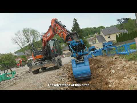 """Arden Equipment show off its latest All In One """"AIO"""" quick coupler and its Arden TiltRotor !"""