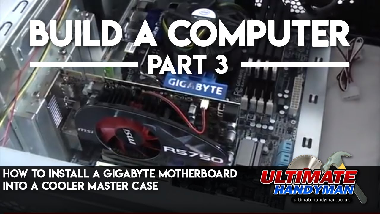 maxresdefault how to install a gigabyte motherboard into a cooler master case HAF 912 Parts at eliteediting.co