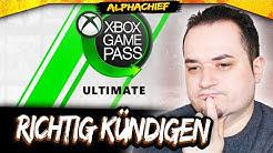 Xbox Game Pass Ultimate RICHTIG KÜNDIGEN | AlphaChief