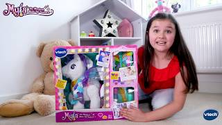 Fun unboxing review of the VTech Myla the Magical Make Up Unicorn ▻...