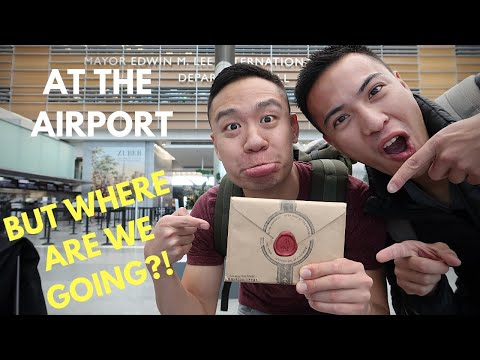 Surprise Mystery Vacation REVEALED!! | Anywhr | Gay Couple Travels