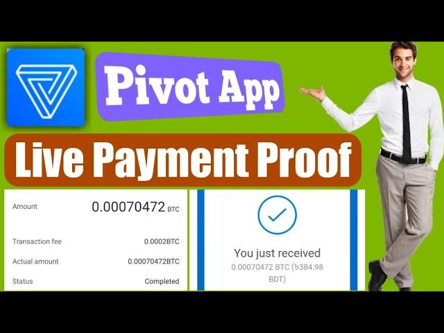 Pivot Live Payment Proof A to Z    MAMUN TIB