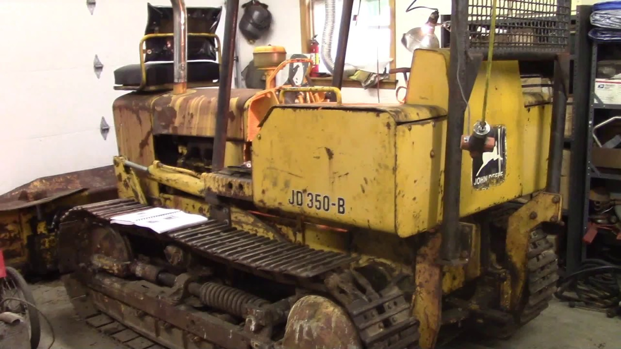 small resolution of john deere 350 clutch and brake adjustment