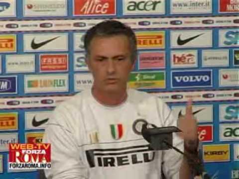 Mourinho in conferenza stampa dopo Inter-Roma (INTEGRALE)