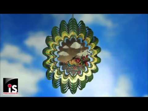 Спиннер анимированный Бабочки