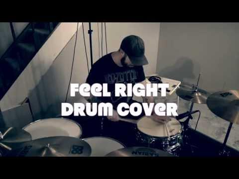 Mark Ronson ft Mystikal - Feel Right (Drum Cover) Explicit Lyrics