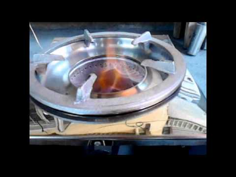 Biomass stove with blower *charchoal*